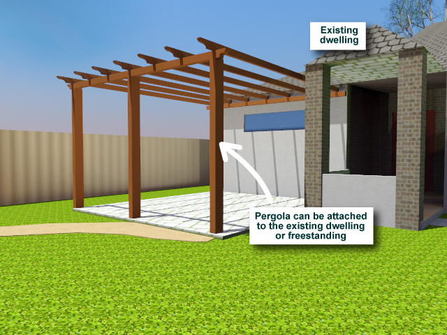 Pergola - Attached or Detached